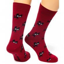 Носки unisex St. Friday Socks Friday Cat Walks / БОРДОВЫЕ