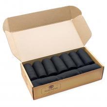 Набор из 10 пар мужских носков СТАНДАРТ (Челны Текстиль) черные