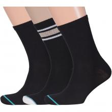 Комплект из 3 пар мужских спортивных носков Flappers Peppers микс 7
