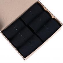 Набор из 6 пар мужских теплых носков (ТМ Grinston) черные