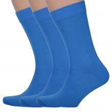 Комплект из 3 пар мужских носков Classic (Palama) СИНИЕ