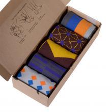 Набор из 5 пар мужских носков (НЕВА-Сокс) микс  МОЙ КРАШ