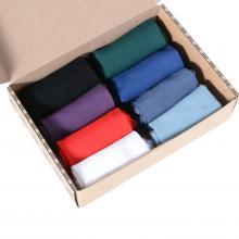 Набор женских носков из мерсеризованного хлопка, 8 пар (ТМ Grinston) микс