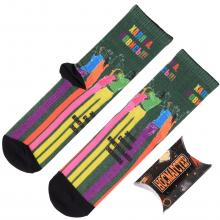 Молодежные носки в подарочной упаковке НОСМАГСТЕР с принтом  Халява, ловись
