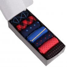 Набор из 7 пар мужских носков (НЕВА-Сокс) микс