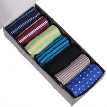 Набор из 7 пар мужских хлопковых носков Flappers Peppers микс 8