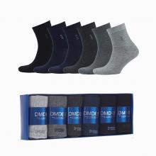 Комплект из 6 пар мужских антибактериальных ароматизированных носков (DMDBS) микс