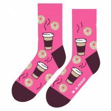 Носки unisex St. Friday Socks Пышки и кофе
