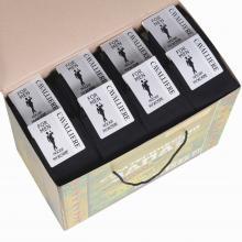 Набор из 80 пар мужских носков  Cavalliere  (RuSocks) черные