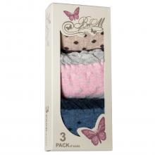 Комплект женских носков BUONUMARE, 3 пары МИКС