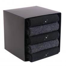 Набор из 5 пар теплых мужских носков (ТМ Grinston) микс