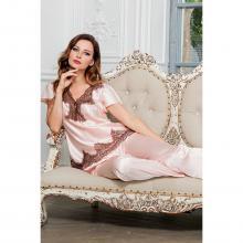 Женская пижама Mia-Mia РОЗОВАЯ