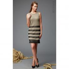 Платье женское Milliner натуральный/черный