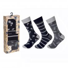 Комплект из 3 пар мужских носков JOHN FRANK МИКС