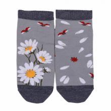Детские укороченные носки Брестские СВЕТЛО-СЕРЫЕ