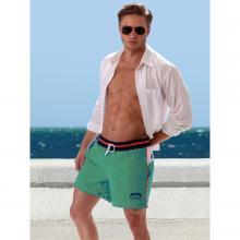Мужские пляжные шорты Jolidon БИРЮЗОВЫЕ
