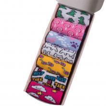 Набор из 7 пар женских хлопковых носков Flappers Peppers микс