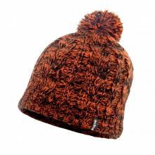 Водонепроницаемая шапка с помпоном DexShell  оранжевая