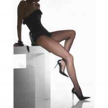 Женские колготки INTRECCIO fumo, темно-серые