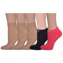 Комплект из 5 пар женских носков Palama микс