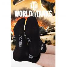 Мужские укороченные носки WORLD OF TANKS Брестские ЧЕРНЫЕ