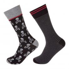 Комплект из 2 пар мужских носков JOHN FRANK МИКС
