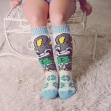 Детские шерстяные гольфы (Бабушкины носки) МУЛЬТИКОЛОР