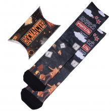 Мужские носки в подарочной упаковке НОСМАГСТЕР с принтом  Лучший учитель в мире