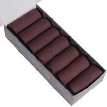 Набор из 7 пар мужских носков (LORENZline) шоколадные