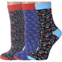 Комплект из 3 пар женских носков Flappers Peppers микс 2