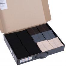 Набор мужских носков из мерсеризованного хлопка, 30 пар (ТМ Grinston) микс