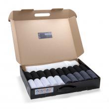 Набор из 20 пар мужских носков «Бизнес» (RuSocks) с мешком для стирки микс 14