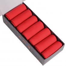 Набор из 7 пар мужских носков (LORENZline) красные