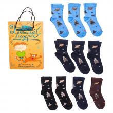 Набор для мальчиков из 10 пар носков LORENZline микс 1