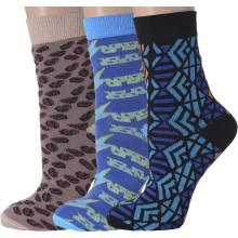 Комплект из 3 пар женских носков Flappers Peppers микс 3