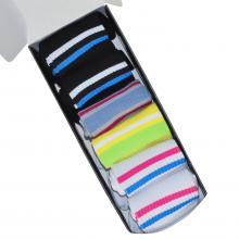 Набор из 6 пар женских спортивных носков Flappers Peppers микс в женской коробке