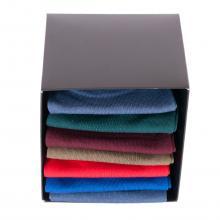 Набор мужских укороченных носков из мерсеризованного хлопка ТМ Sergio di Calze, 7 пар МИКС