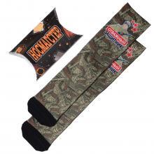 Мужские носки в подарочной упаковке НОСМАГСТЕР с принтом  Отважный защитник