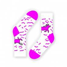 Носки unisex St. Friday Socks Счастливый единорог