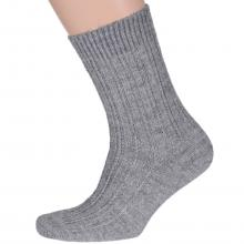 Мужские шерстяные носки RuSocks СВЕТЛО-СЕРЫЕ