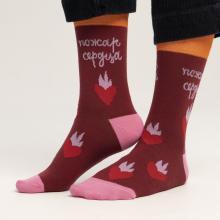 Носки unisex St. Friday Socks Пожар сердца