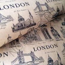 Упаковка в подарочную бумагу  Лондон