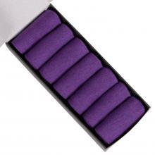 Набор из 7 пар мужских носков (НЕВА-Сокс) фиолетовые