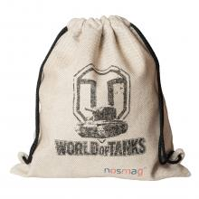 Набор носков  Стандарт  20 пар в мешке с надписью  World of tanks