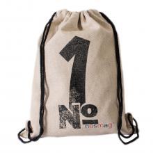 Набор носков «Бизнес» 20 пар в мешке с  рисунком и надписью  №1
