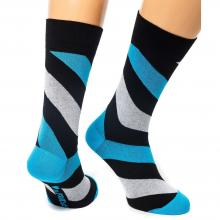 Носки unisex St. Friday Socks Friday Spiral черные